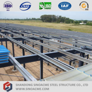 Sinoacme Prefabricated Multi Span Steel Structure Workshop pictures & photos