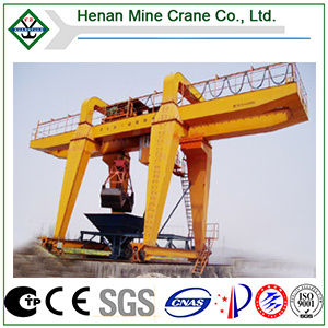 Electric Double Beam Grapple Gantry Crane pictures & photos