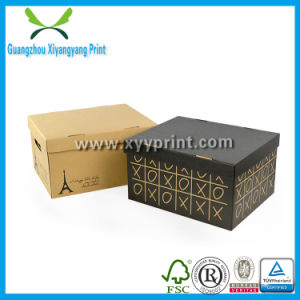 Custom Corrugated Paper Carton Box Packaging for Gift Shoe pictures & photos
