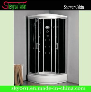 Low Tray Sector Black Back Board Completed Shower Box (TL-8854) pictures & photos