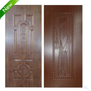 Fiber Board Melamine Laminated Door Skin