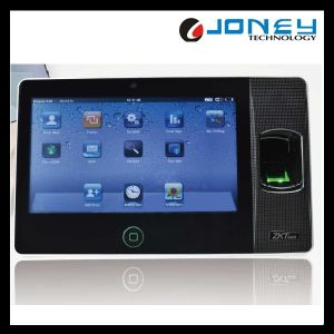 Zk 7 Inch Touch Screen Network Enployee Biometric WiFi Fingeprint Time Attendance System (Biopad100) pictures & photos