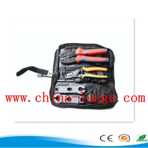 Electric Combined Tool Set with Mc4 Crimping Tool, Wire Stripper, Mc4 Spanner, Connectors and Mc3 Tyco Dies Kit pictures & photos