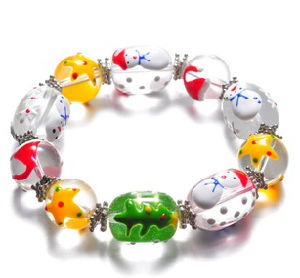 Christmas Jewelry/Christmas Bracelet/Christmas Snowman (XBL13131) pictures & photos