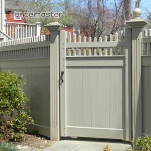 Semi-Privacy Fence with Gate pictures & photos