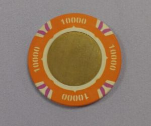 Two Color Copper Chips Poker Chips
