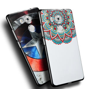 Custom Embossed 3D Printing Cell Phone Cover for Huawei Mate 8