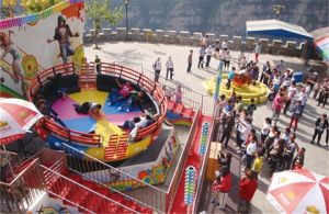 Theme Park Amusement Equipment Disco Turntable for Park Kiddie Ride pictures & photos