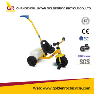 (GL112-4) High Quality 10′′ Pedal Tricycle for Baby pictures & photos