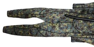 Waterproof and Soft Neoprene Camouflage Long Wetsiut (HX-L0223) pictures & photos