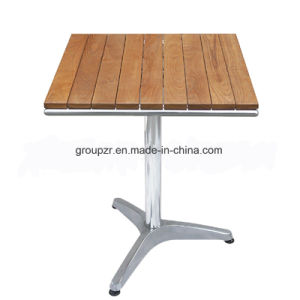 Outdoor Garden Wood Tabletop Detachable Table