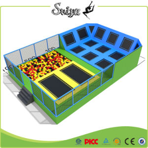 Large Sized Professional Indoor Trampoline Park with Wall Jumping pictures & photos