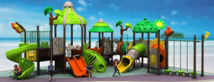 New Design Playground Slides with Swing (KY-10625)