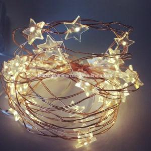 Warm White Rgb Star Copper Wire String Light Led Christmas Wedding Decoration String Fairy Light