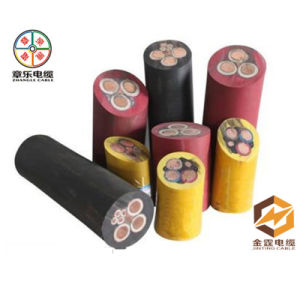 Rubber Flexible Cable, Cu Electric Cable for Outdoor Use