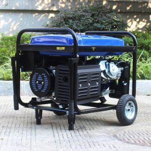 Bison (China) BS4500p (M) 3kw 3kVA Easy Move with Wheels and Handle Strong Frame Single Phase Power Generator pictures & photos