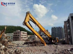 26m Excavator Three Segment Long Reach Boom for Demolition pictures & photos