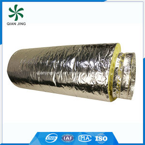 Isoduct High Quality Fiberglass Insulated Aluminum Flexible Duct for HVAC pictures & photos