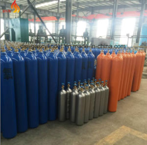 0.5liter to 50liter Seamless HP Gas Cylinder with Value and Cap pictures & photos