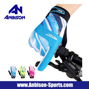 2017 Hot Sale off-Road Cycling Full Finger Gloves pictures & photos