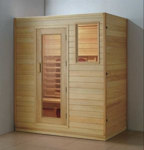 Solid Wood Sauna Room (AT-8617) pictures & photos