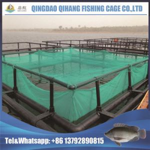Resist Storm PE/Nylon Net Flexible Knotless Net Neritic Fish Cage Floating pictures & photos