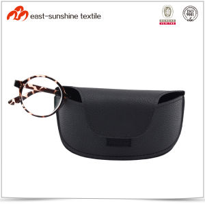 Soft Sunglasses Box with PU Leather Covered pictures & photos