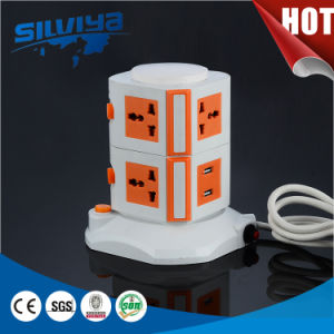 Multi Power Desktop Socket with Surge Protector pictures & photos