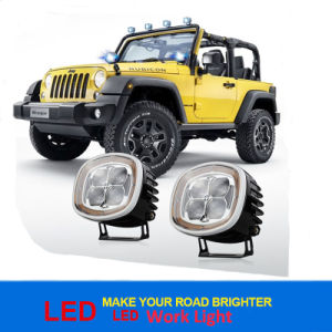 Super Bright Auto Car 12V 40W 2500lm 6000k Driving Light CREE LED Work Light pictures & photos