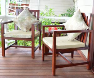 Wooden Outdoor Patio Furniture