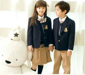Primary School Uniform for Girls pictures & photos