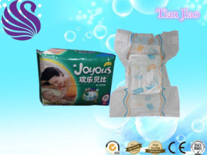 2017 Hot Sell High Absorption Breathable Film Disposable Baby Diaper pictures & photos