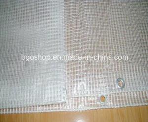 PVC Transparent Mesh Tarpaulin (1000dx1000d 3X3 500g)  File Folder Material Clear Tent Fabric. & China PVC Transparent Mesh Tarpaulin (1000dx1000d 3X3 500g)  File ...