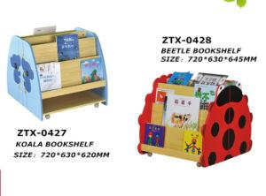 Kids Cartoon Bookshelf Preschool Furniture