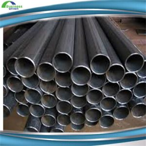 Welded Carbon Black Round Scaffolding Steel Pipe