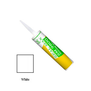 White Color High Quality Acetic Silicone Sealant (SM-9800)