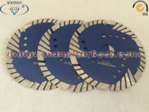 4.5′′ Turbo Diamond Saw Blade for Granite Sandstone Lava Rock pictures & photos