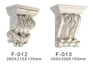 White PU Exotic Corbel Interior Decoration Materail pictures & photos