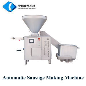 Sausage Filling Stuffing Machine with Knotting Device pictures & photos