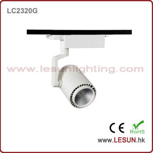 2016 New White/Black 20W COB Track Lights for Fashion Shop LC2320t pictures & photos