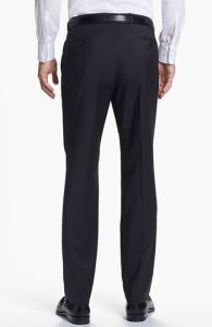 OEM Wholesale Flat Front Wrinkle Free Formal Men′s Pants pictures & photos