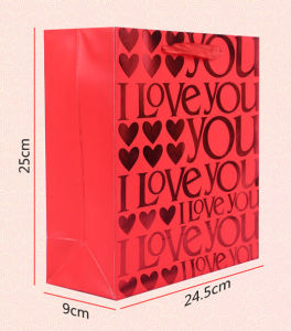 Wholesale Red Wedding Gift Packing Bag pictures & photos