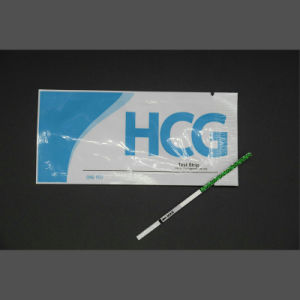 FDA Ce HCG Serum/Urine Pregnancy Rapid Test Strip / Cassette / Midstream pictures & photos