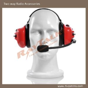Headband Noise Cancelling Headset Two Way Radio Heavy Duty Headset pictures & photos