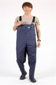 Waterproof PVC Neoprene Chest Fishing Wader