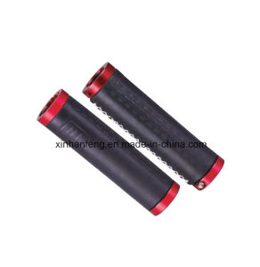 Leather Material Bicycle Grips for Mountain Bike (HGP-011) pictures & photos