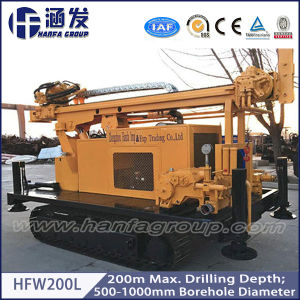 200m Depth! Hfw200L Track Type Water Well Drilling Rig, Pile Driver pictures & photos