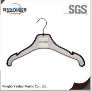 Plastic Cloth Hanger with Metal Hook for Display (42cm) pictures & photos