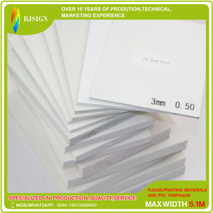 PVC Foam Board From China for Digital Printing Press (RJPFB001) pictures & photos