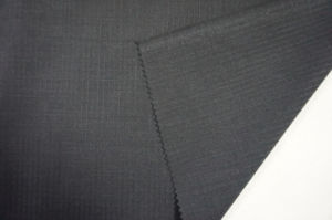 Pinstries Worseted Wool Fabric